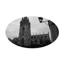 Oxford Oval Car Magnet