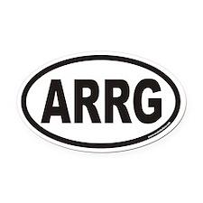 ARRG Euro Oval Car Magnet