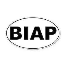 BIAP Oval Car Magnet