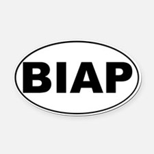 BIAP Oval Car Magnet