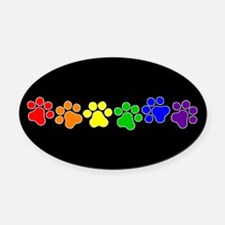Gay Pride Car Magnets Personalized Gay Pride Magnetic Signs For - Custom car magnets paw print