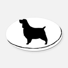 English Springer Spaniel Oval Car Magnet