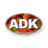 Adk Oval Car Magnets