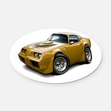 1979-81 Trans Am Gold Car Oval Car Magnet