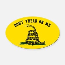 Don't Tread on Me Oval Car Magnet