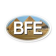 BFE - Oval Car Magnet