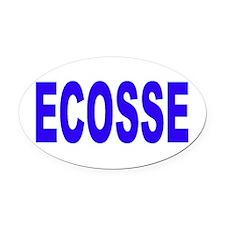 ECOSSE - SCOTLAND Oval Car Magnet