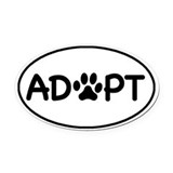 Dog rescue Car Magnets