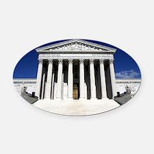Supreme Court Oval Car Magnet