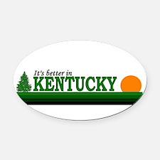 Unique Louisville Oval Car Magnet