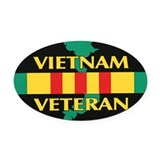 Military Oval Car Magnets