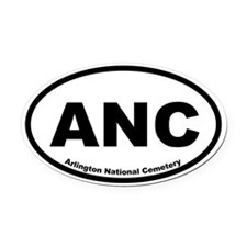 Arlington National Cemetery Oval Car Magnet