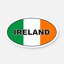Flag of Ireland Oval Car Magnet