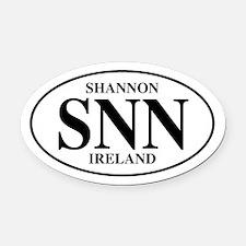 Shannon, Ireland Oval Car Magnet