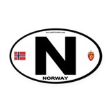 Norway Car Magnets