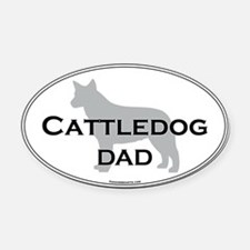 ACD DAD Oval Car Magnet