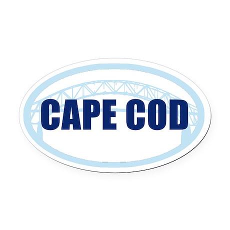 Cape Cod Bumper Oval Car Magnet Oval Car Magnet