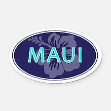 MAUI, HAWAII - Oval Car Magnet