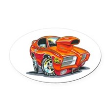 GTO Judge Oval Car Magnet
