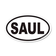 SAUL Euro Oval Car Magnet
