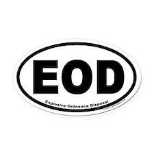 Explosive Ordnance Disposal EOD Oval Car Magnet