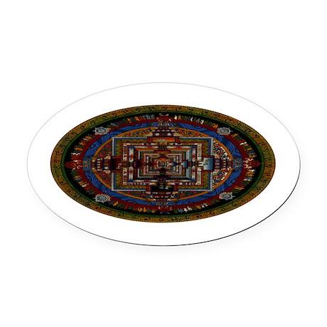 Kalachakra Oval Car Magnet