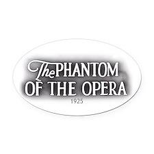 The Phantom of the Opera 1925 Oval Car Magnet