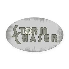 Storm Chaser 4 Oval Car Magnet