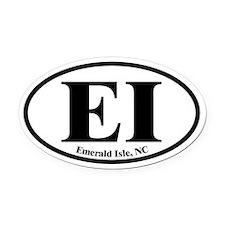Emerald Isle EI Euro Oval Oval Car Magnet