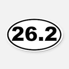 26.2 - Marathon Oval Car Magnet