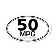 PRIUS OWNER BUMPER Oval Car Magnet GIFT all HYBRID