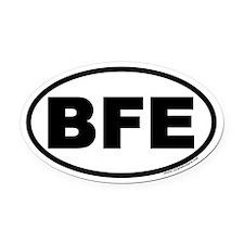 BFE Oval Car Magnet
