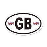 British flag Car Magnets
