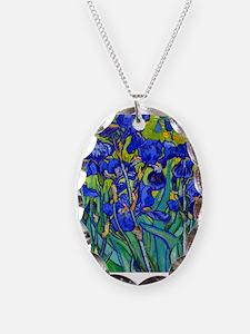 Van Gogh - Irises 1889 Necklace