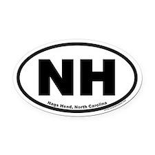 Nags Head, NC Oval Car Magnet