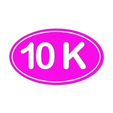 10K *pink* Oval Car Magnet