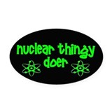 Nuclear physics Car Magnets