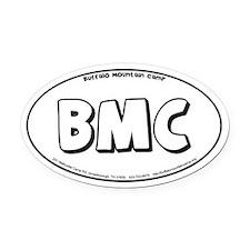BMC Oval Car Magnet