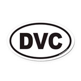Dvc Oval Car Magnets