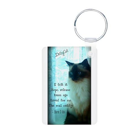 DollyCat Beauty Poetry Verse - Ragdoll Cat Aluminu