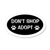 Animal Oval Car Magnets