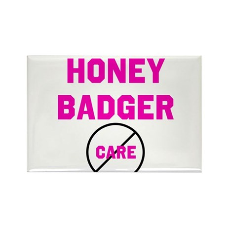 Fearless Honey Badgers Rectangle Magnet (100 pack)
