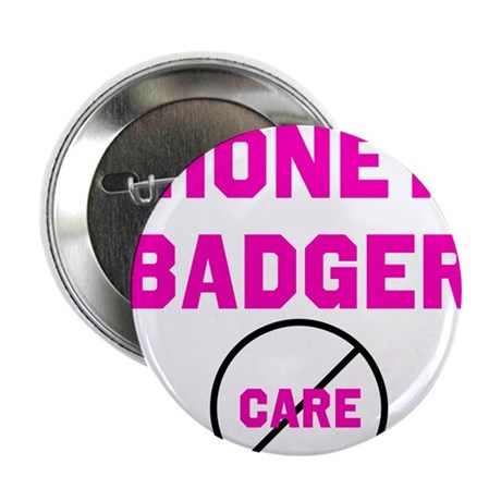 "Fearless Honey Badgers 2.25"" Button (100 pack)"