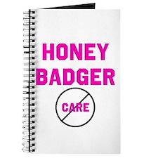 Fearless Honey Badgers Journal