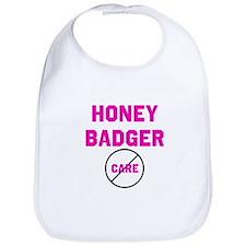 Fearless Honey Badgers Bib
