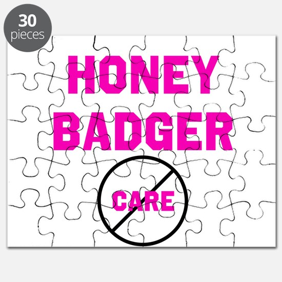 Fearless Honey Badgers Puzzle
