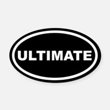Ultimate Euro Oval Car Magnet