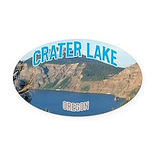 Crater Lake National Park Oval Car Magnet