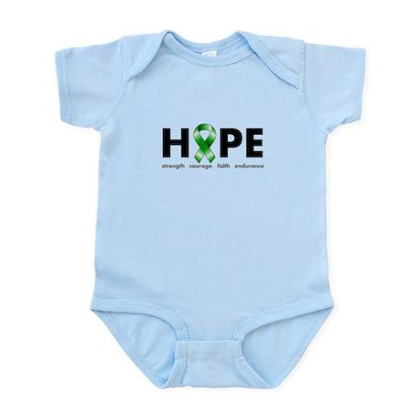 Green Ribbon Hope Infant Bodysuit