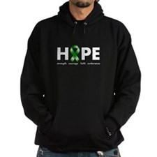 Green Ribbon Hope Hoodie